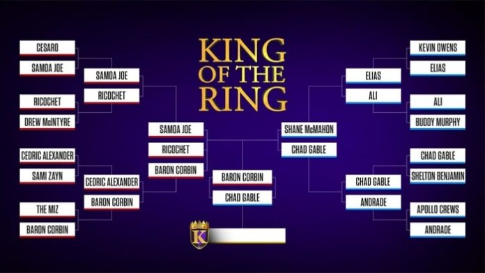 King of the Ring finals