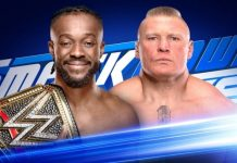 Brock Lesnar on SmackDown