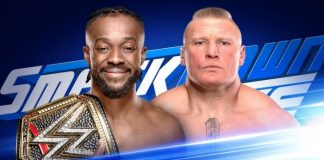 Brock Lesnar on SmackDown