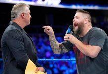 Kevin Owens wrestling