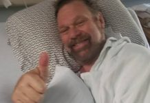 Jim Duggan hospitalized