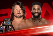 Raw Season Premiere card