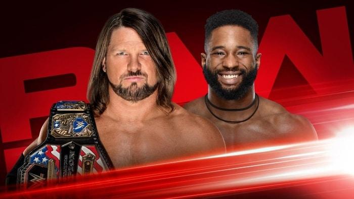 Raw Season Premiere card