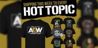 AEW and Hot Topic