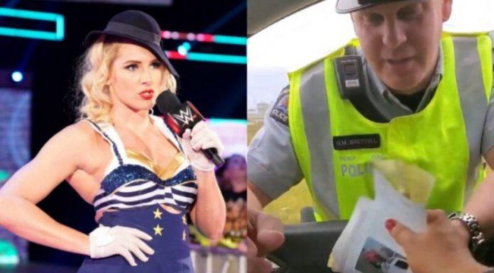 Lacey Evans confirms speeding ticket video was staged