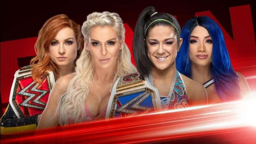 Matches announced for Monday Night RAW at MSG