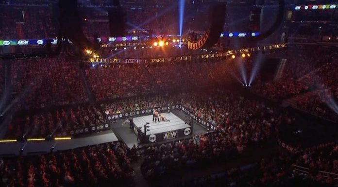 Official attendance for premiere episode AEW Dynamite on TNT