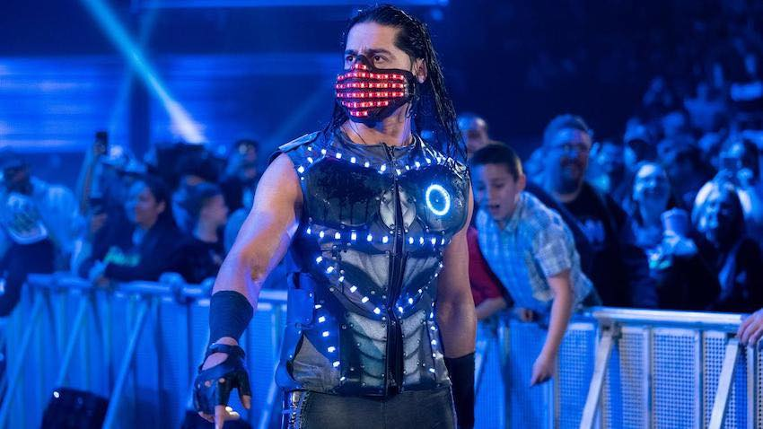 WWE Superstar ALI surprises a fan with a special Halloween costume