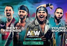 AEW announces Best Friends vs. The Young Bucks for Dynamite