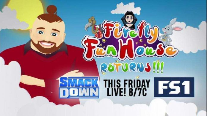 Firefly FunHouse segment set for this week's Friday Night SmackDown