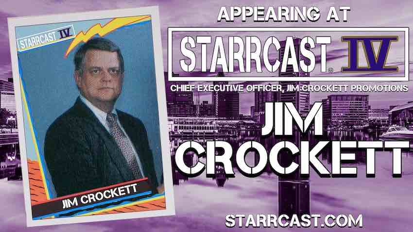 Jim Crockett to appear at Starrcast IV Convention