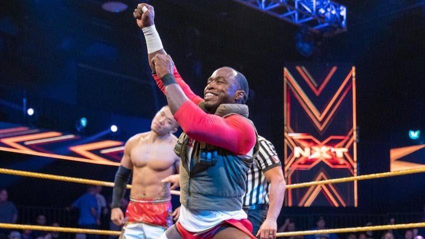 NXT star Jordan Myles upset with his logo