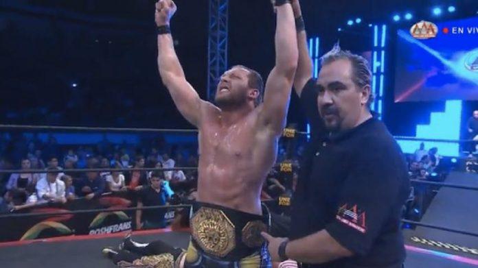 Kenny Omega captures the AAA Mega Title