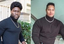 """Kevin Hart dresses up as """"The Rock"""" for Halloween"""