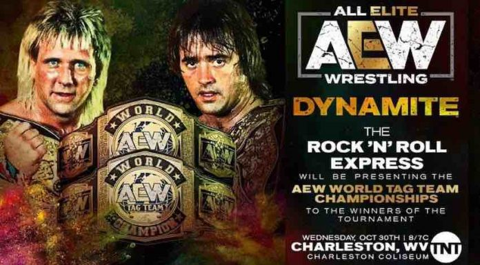 Rock 'N' Roll Express to appear on AEW: Dynamite next Wednesday