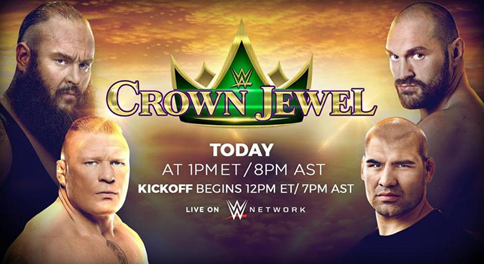 WWE Crown Jewel Preview