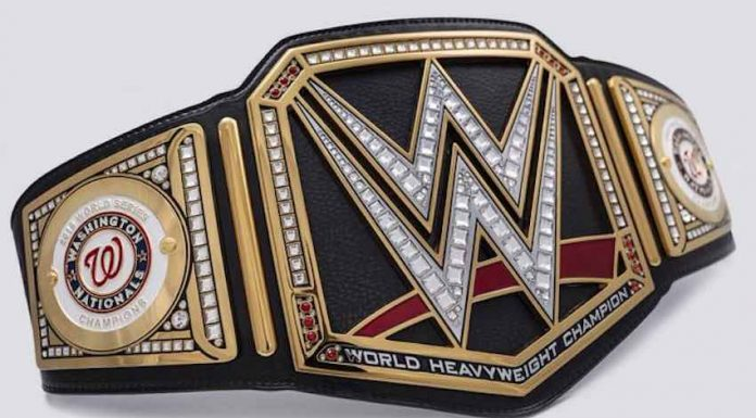 Triple H sends Washington Nationals custom Title Belt in honor of World Series win