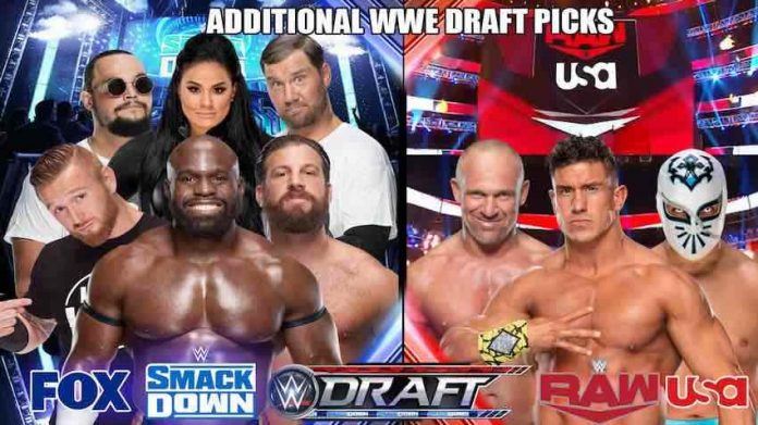 WWE announces more draft selections for Raw and SmackDown