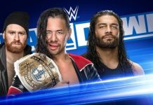 SmackDown card for October 18