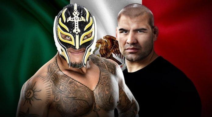 Cain Velasquez tag match