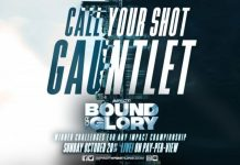 Impact Call Your Shot Match announced for Bound For Glory