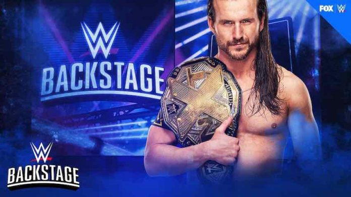 Adam Cole to appear on WWE Backstage this Tuesday