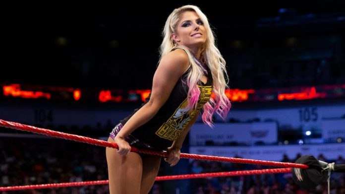 Alexa Bliss injured