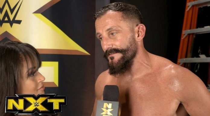 Bobby Fish suffers injury scare during Wednesday's Tag Team Title Match on NXT