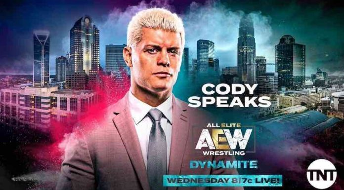 Cody's career announcement and tag match set for AEW Dynamite
