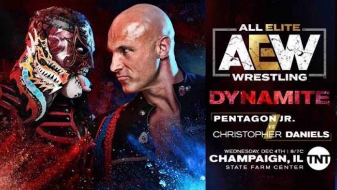 Pentagon Jr. vs. Christopher Daniels added this Wednesday's AEW Dynamite