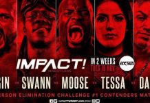 IMPACT announces five person elimination challenge