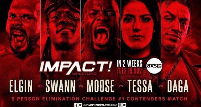 IMPACT announces five person elimination challenge