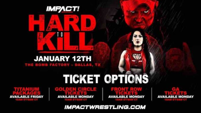 IMPACT announces ticket information for Hard To Kill