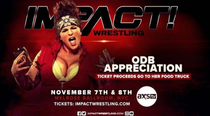 IMPACT holding ODB appreciation night, proceeds going to her food truck