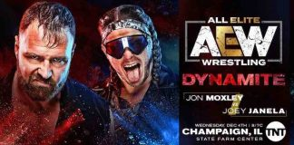 AEW announces Jon Moxely vs. Joey Janela for Dynamite