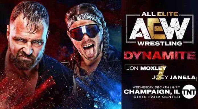 AEW announces Jon Moxely vs. Joey Janela for Dynamite