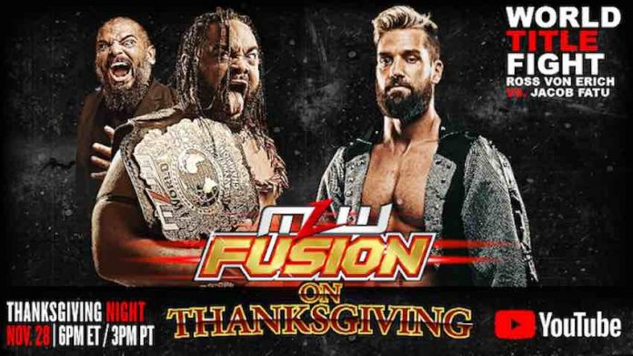 Major League Wrestling to air Thanksgiving special today
