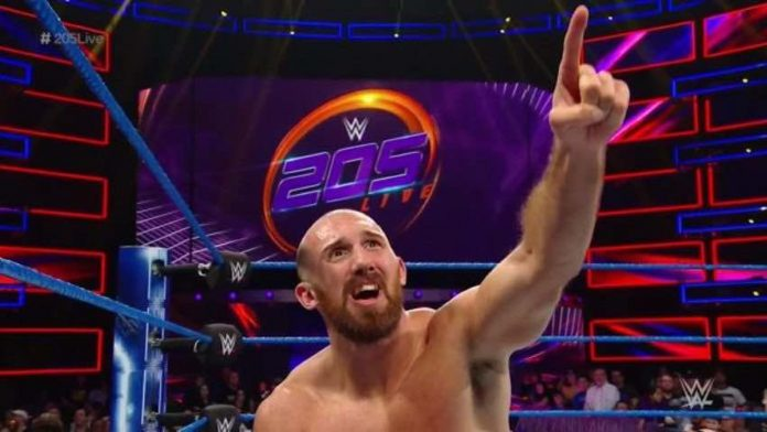 Oney Lorcan reportedly has requested his release from WWE
