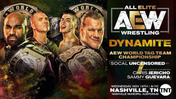 AEW announces Tag Team Title Match for Dynamite this Wednesday