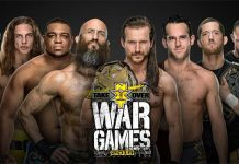 NXT TakeOver: WarGames III card