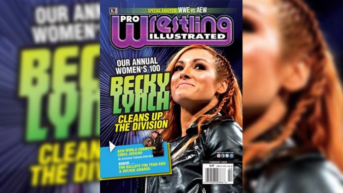 Becky Lynch PWI Top 100