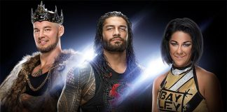 WWE Superstars stuck