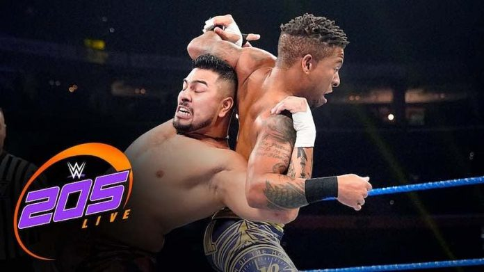 WWE 205 Live Results 11/1/19