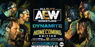 AEW announces big six-man tag team match for Dynamite January 1, 2020