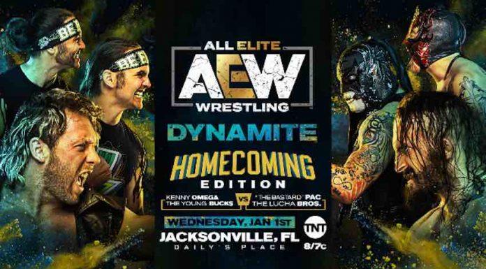 AEW announces big six-man tag team match for Dynamite January 1, 2020