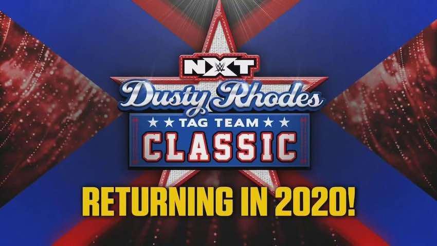 Dusty Rhodes Tag Team Classic returning 2020