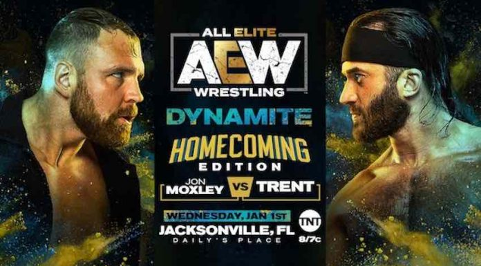 Jon Moxley vs. Trent set for Dynamite Homecoming Edition January 1