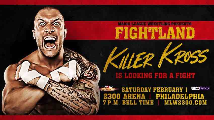 MLW announces Killer Kross set to debut at Fightland TV tapings