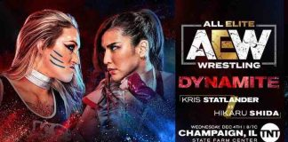 Kris Statlader vs. Hikaru Shida this Wednesday on AEW Dynamite