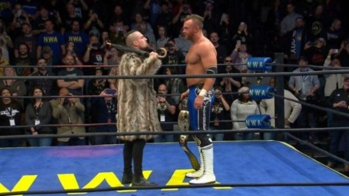 Marty Scurll makes suprise apperance at NWA Into the Fire